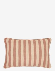 Sagamore stripe Cushion cover - cushion covers - orange