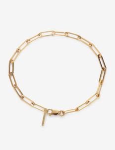 Reflection stretched bracelet - dainty - gold