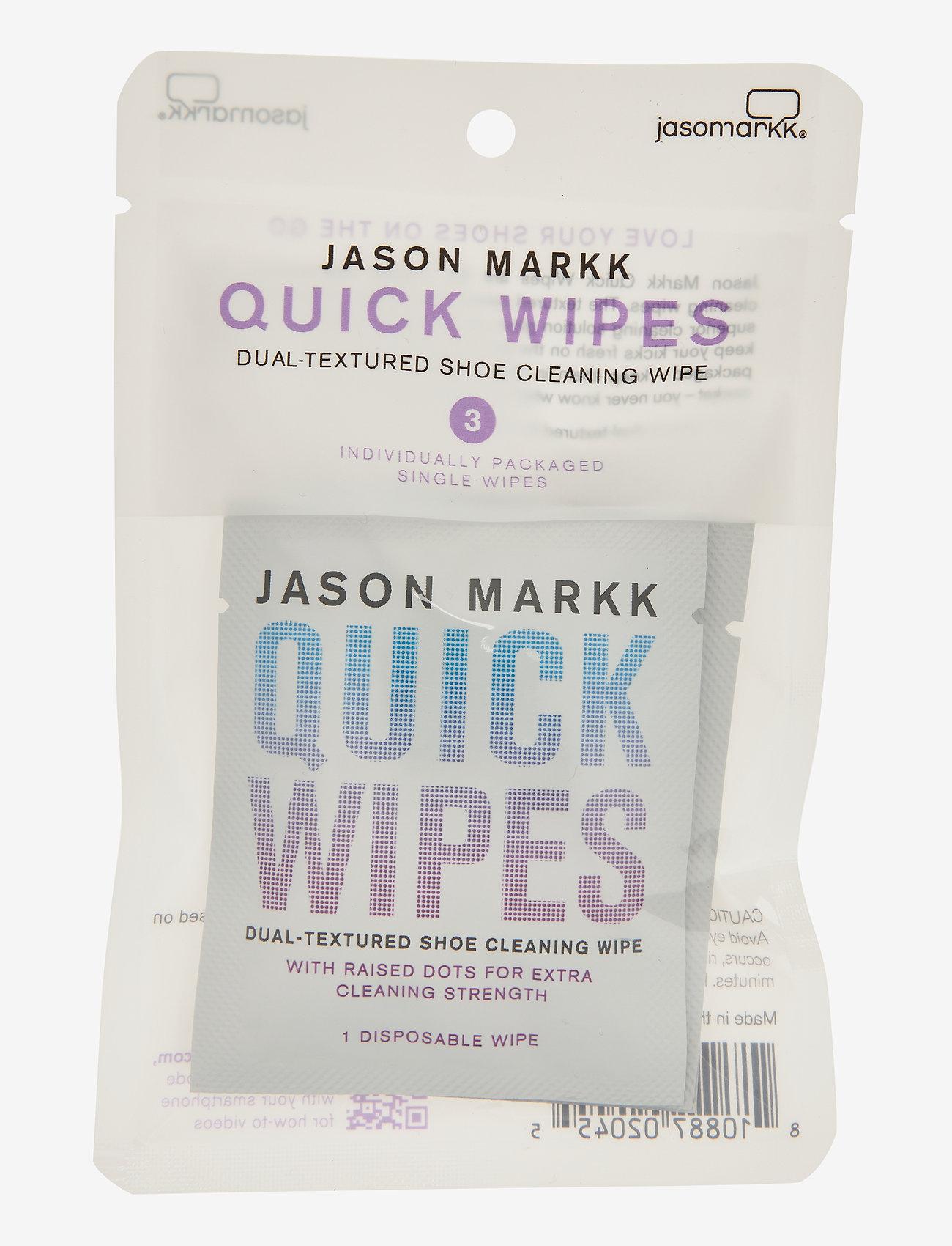 Jason Markk - Quick Wipes - Pack of 3 - shoe protection - white - 0