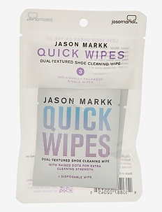 Quick Wipes - Pack of 3 - shoe protection - white