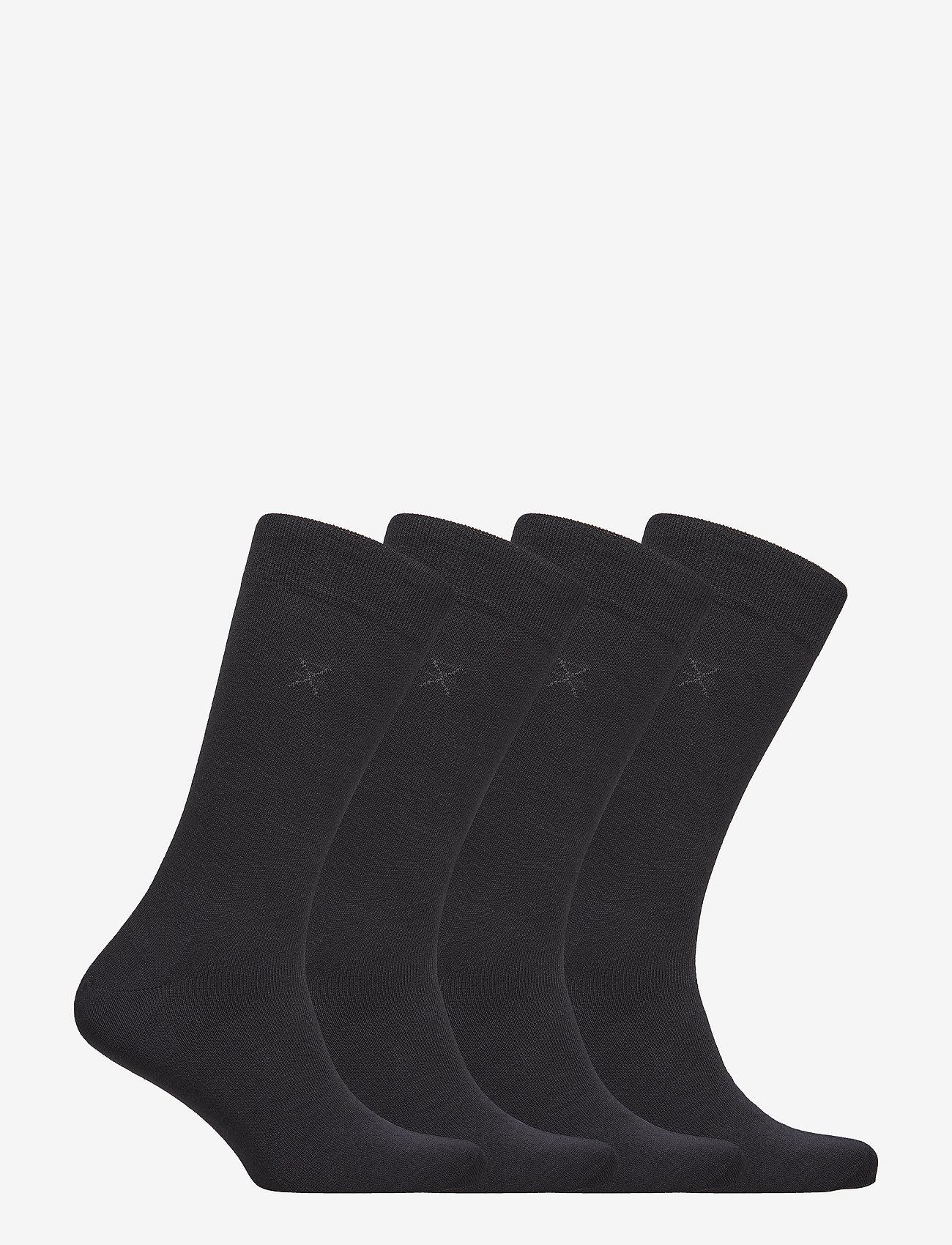 JBS of Denmark - JBS of dk socks cotton 4-pack - chaussettes régulières - black - 1