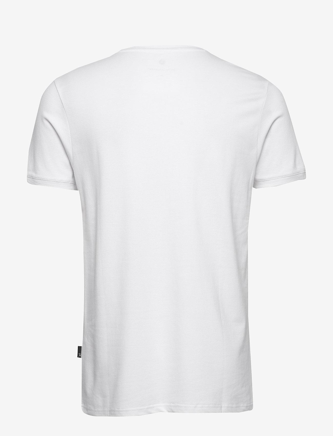 JBS of Denmark JBS of Denmark t-shirt pique - T-skjorter WHITE - Menn Klær