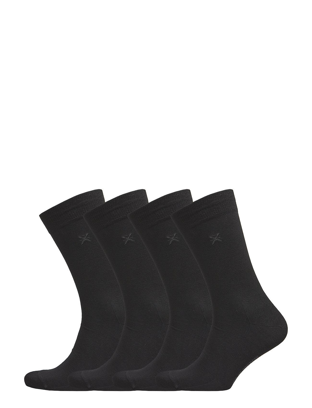 JBS of Denmark JBS of dk socks bamboo 4-pack - BLACK