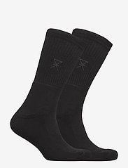 JBS of Denmark - JBS of dk socks bamboo 2-pack - regular socks - black - 1