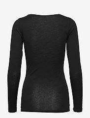 JBS of Denmark - JBS of DK t-shirt LS wool - Överdelar - black - 1