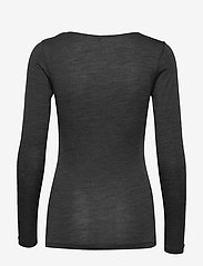 JBS of Denmark - JBS of DK t-shirt LS wool - Överdelar - dark gray - 1