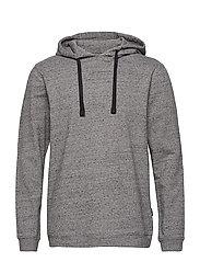 JBS of Denmark, sweat hoodie - GREY MELAN
