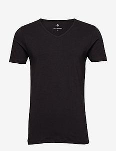 JBS of Denmark T-shirt V-neck - BLACK