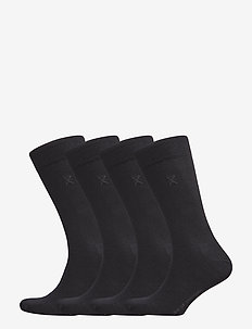 JBS of dk socks cotton 4-pack - regular socks - black