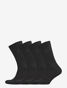 JBS of dk socks bamboo 4-pack - BLACK