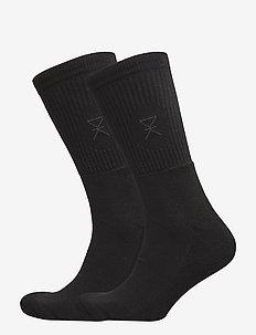 JBS of dk socks bamboo 2-pack - normalne skarpetki - black