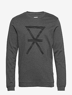 JBS of Denmark shirt bamboo - podstawowe bluzy - dark gray