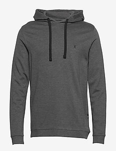 JBS of Denmark hoodie bamboo - podstawowe bluzy - dark gray