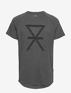 JBS of Denmark t-shirt w/print - krótki rękaw - dark gray