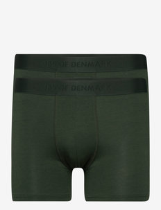 JBS of DK 2-pack tights FSC - bokserid - grön