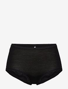 JBS of DK maxi brief wool - culottes midi & maxi - black