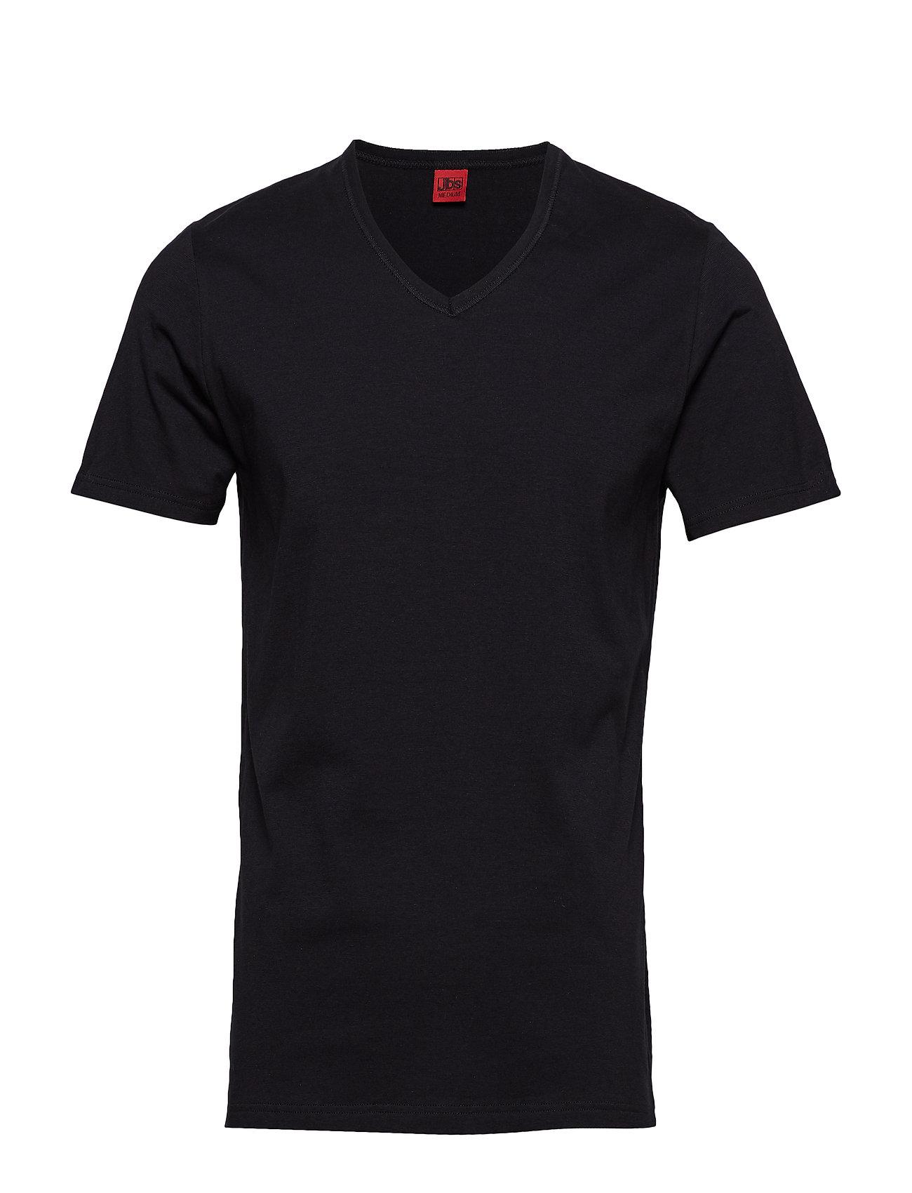 Basic V Neck Tee T shirt Sort JBS