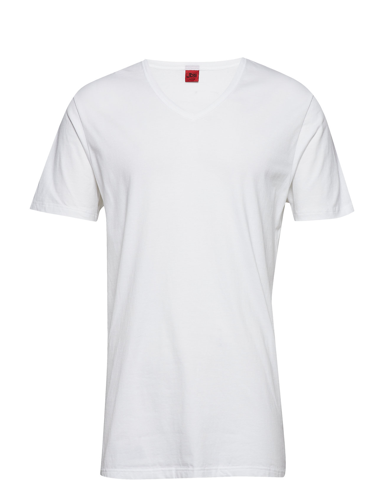 JBS Basic v-neck tee - WHITE