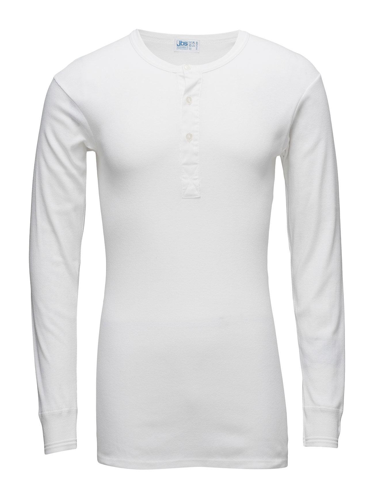 JBS Original longsleeve buttons - WHITE