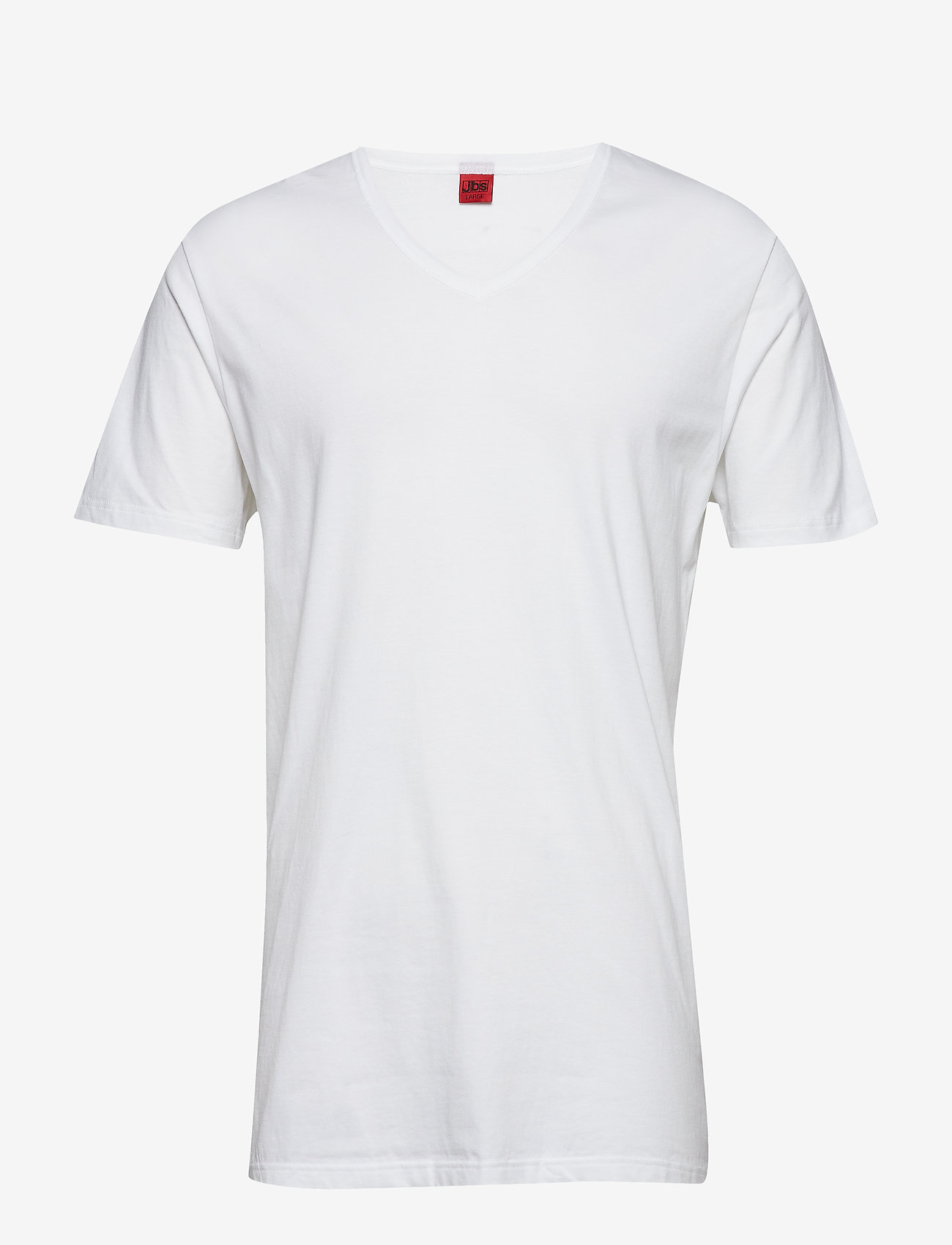 JBS - Basic v-neck tee - basic t-shirts - white