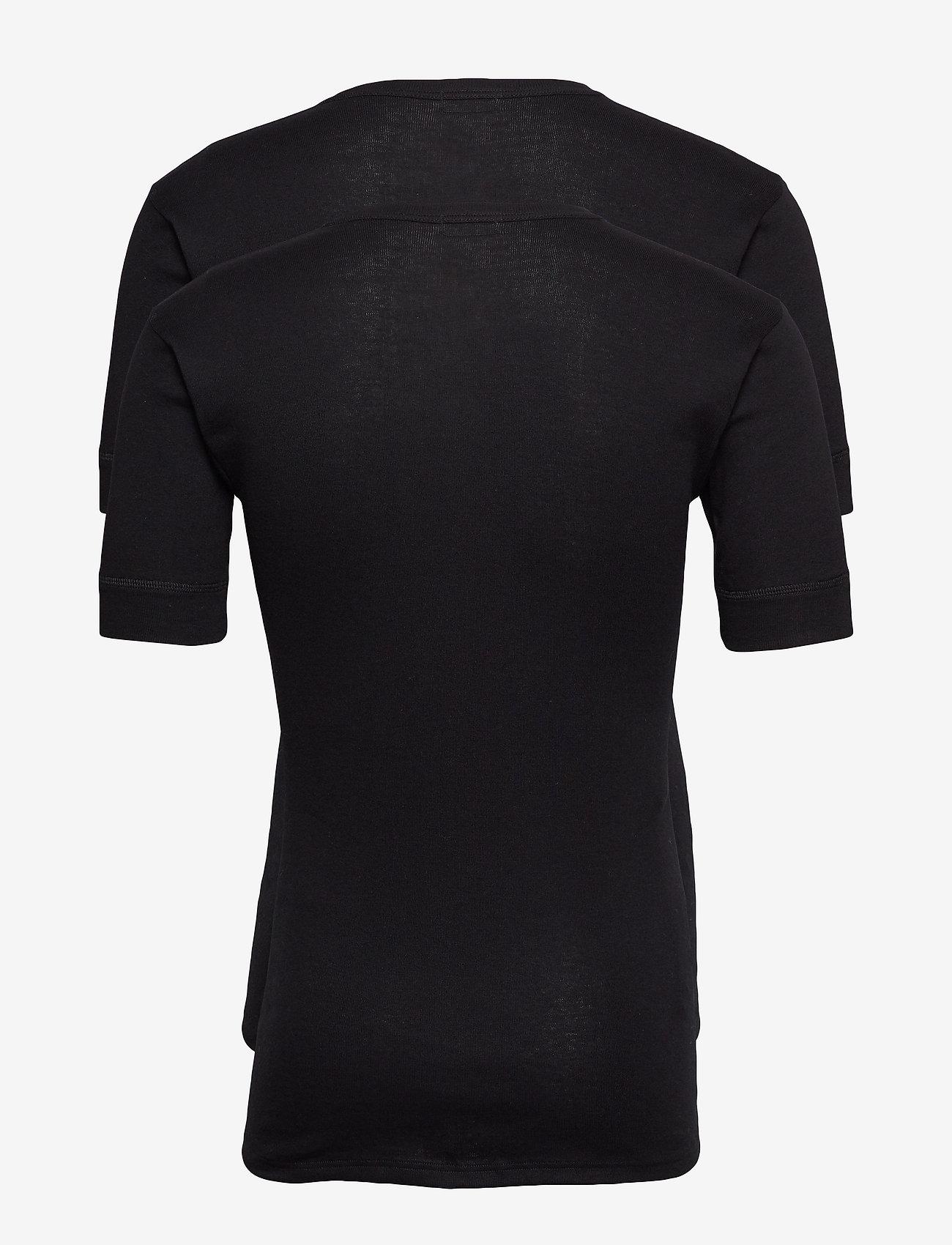JBS - JBS t-shirt 2-pack organic - t-shirts basiques - black - 1