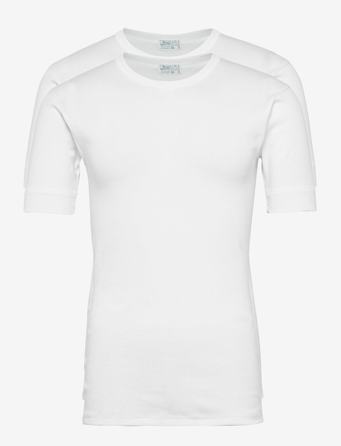 JBS - JBS t-shirt 2-pack organic - multipack - white - 0