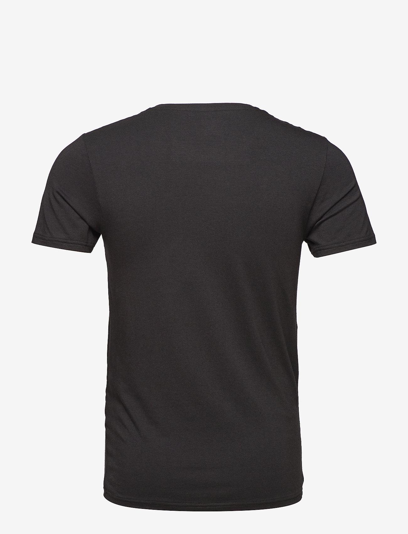 JBS - JBS 2-pack O-neck bamboo - t-shirts basiques - black - 1