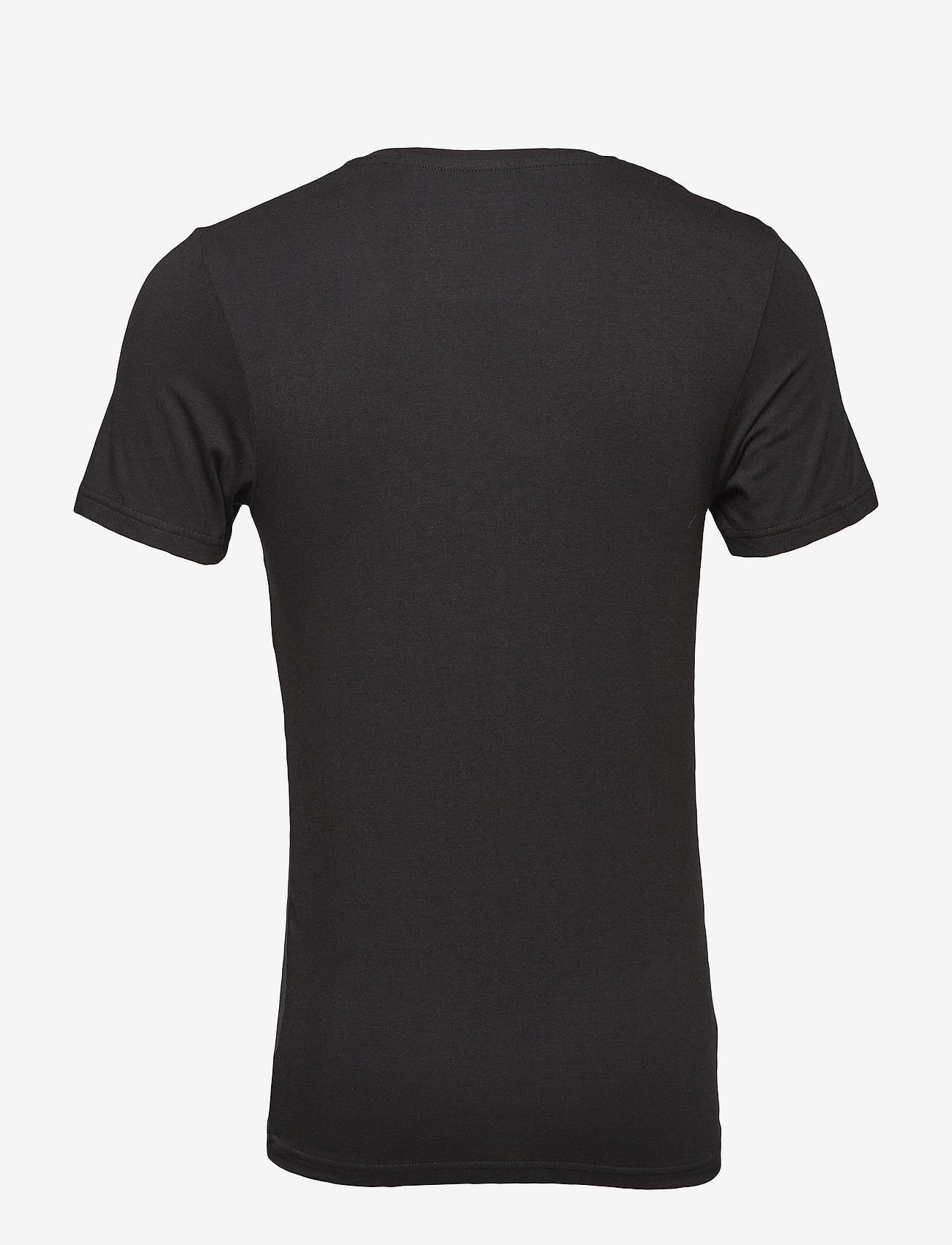 JBS JBS 2-pack V-neck bamboo - T-skjorter BLACK - Menn Klær