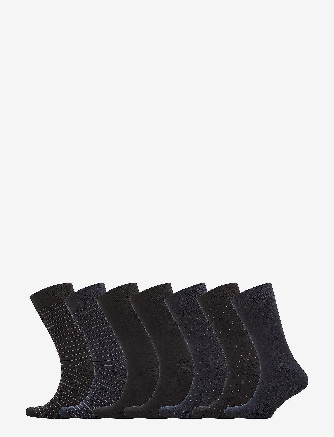 JBS - JBS socks bamboo 7 pairs box - tavalliset sukat - multi