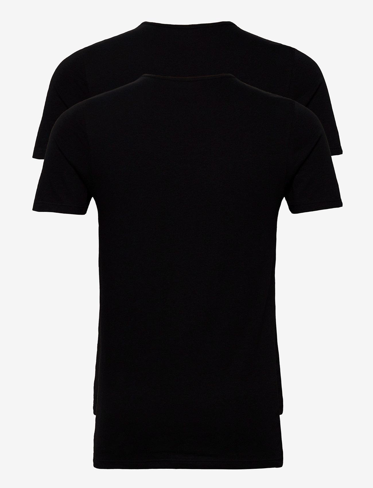 JBS JBS 2-pack t-shirt O-neck GOTS - T-skjorter BLACK - Menn Klær