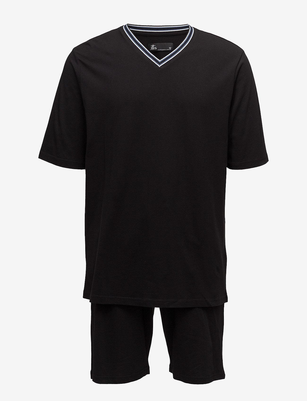 JBS - JBS pajamas, t-shirt-shorts - pyjamas - black - 0