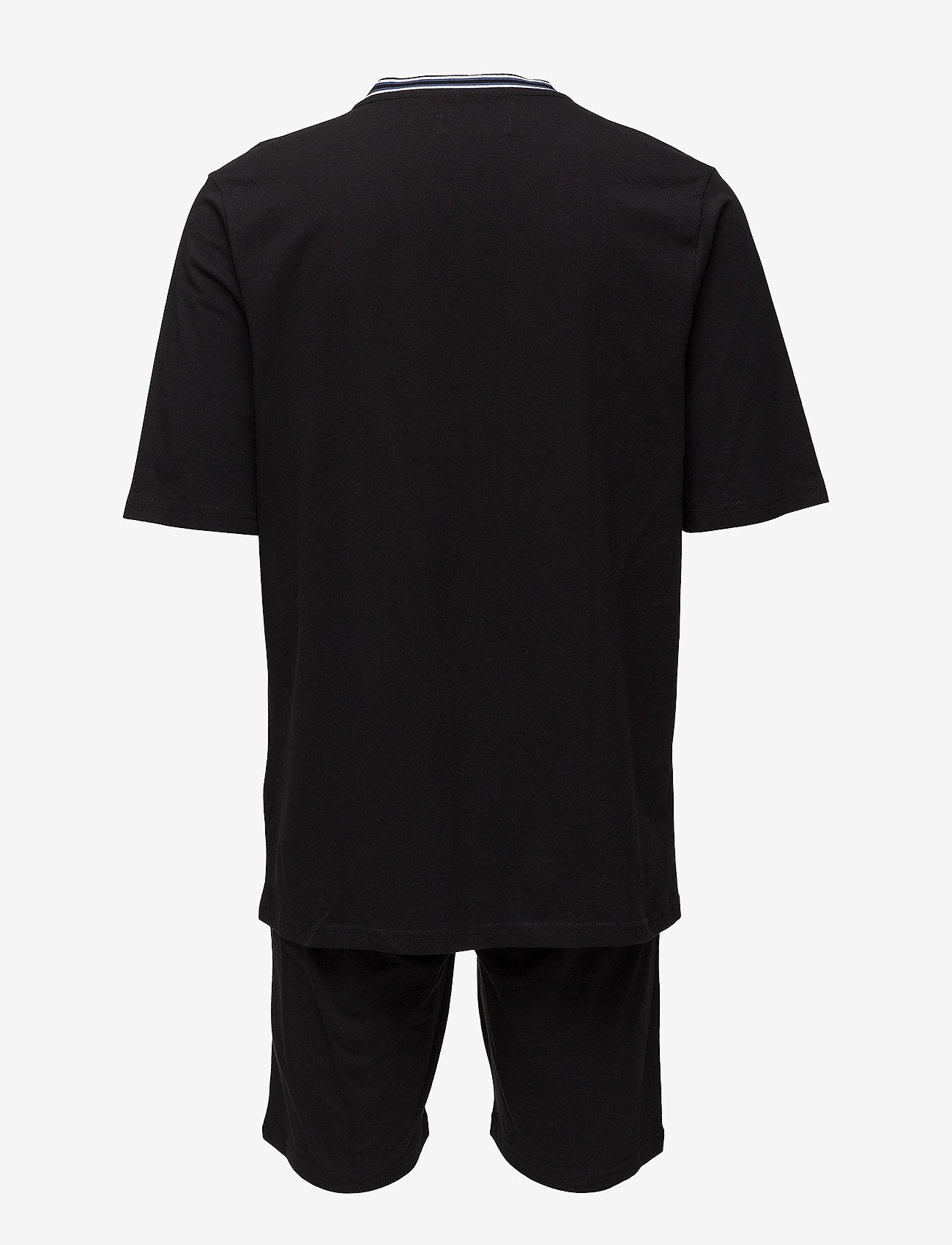JBS - JBS pajamas, t-shirt-shorts - pyjama's - black - 1