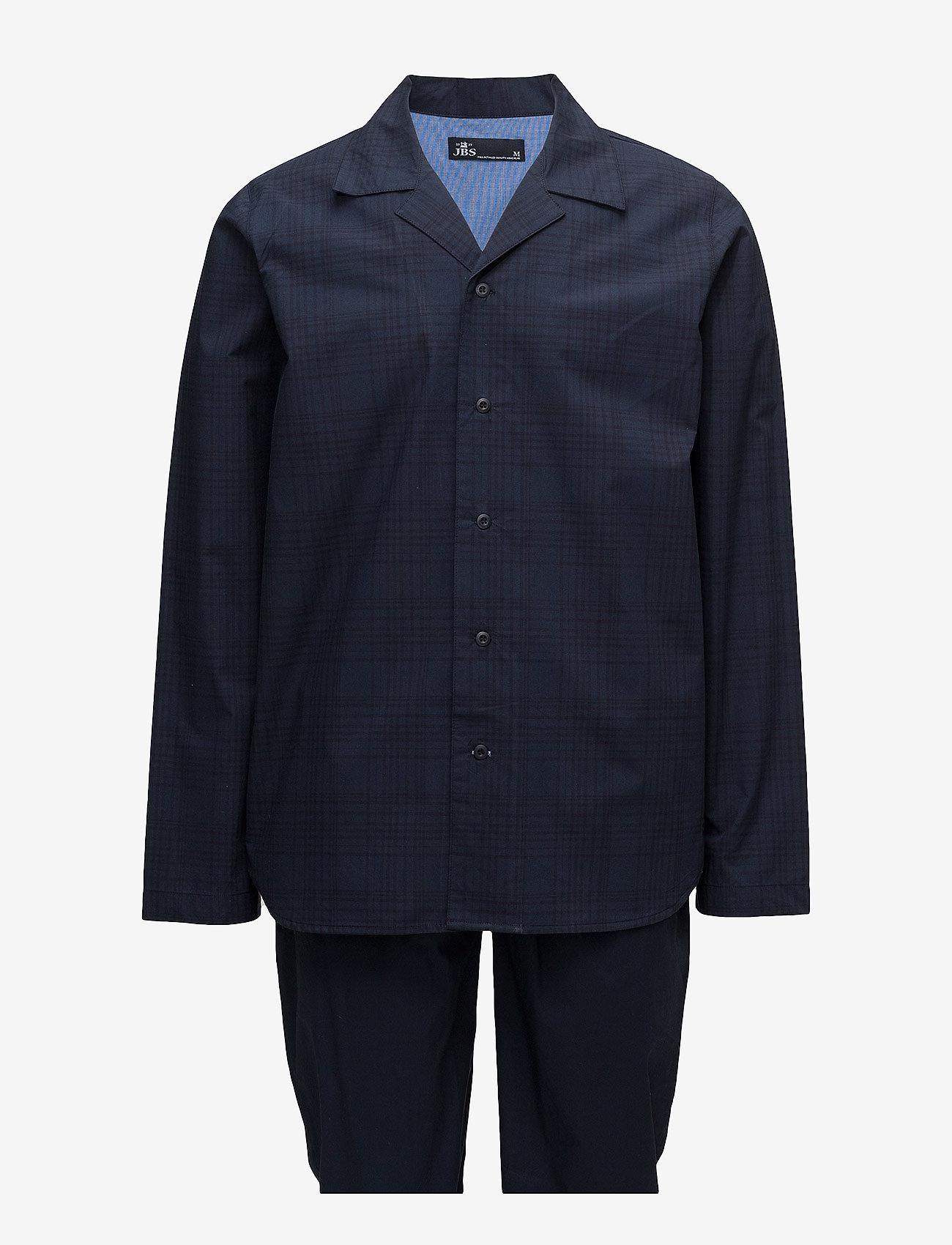 JBS - JBS, pajama button down - pyjamas - navy - 0