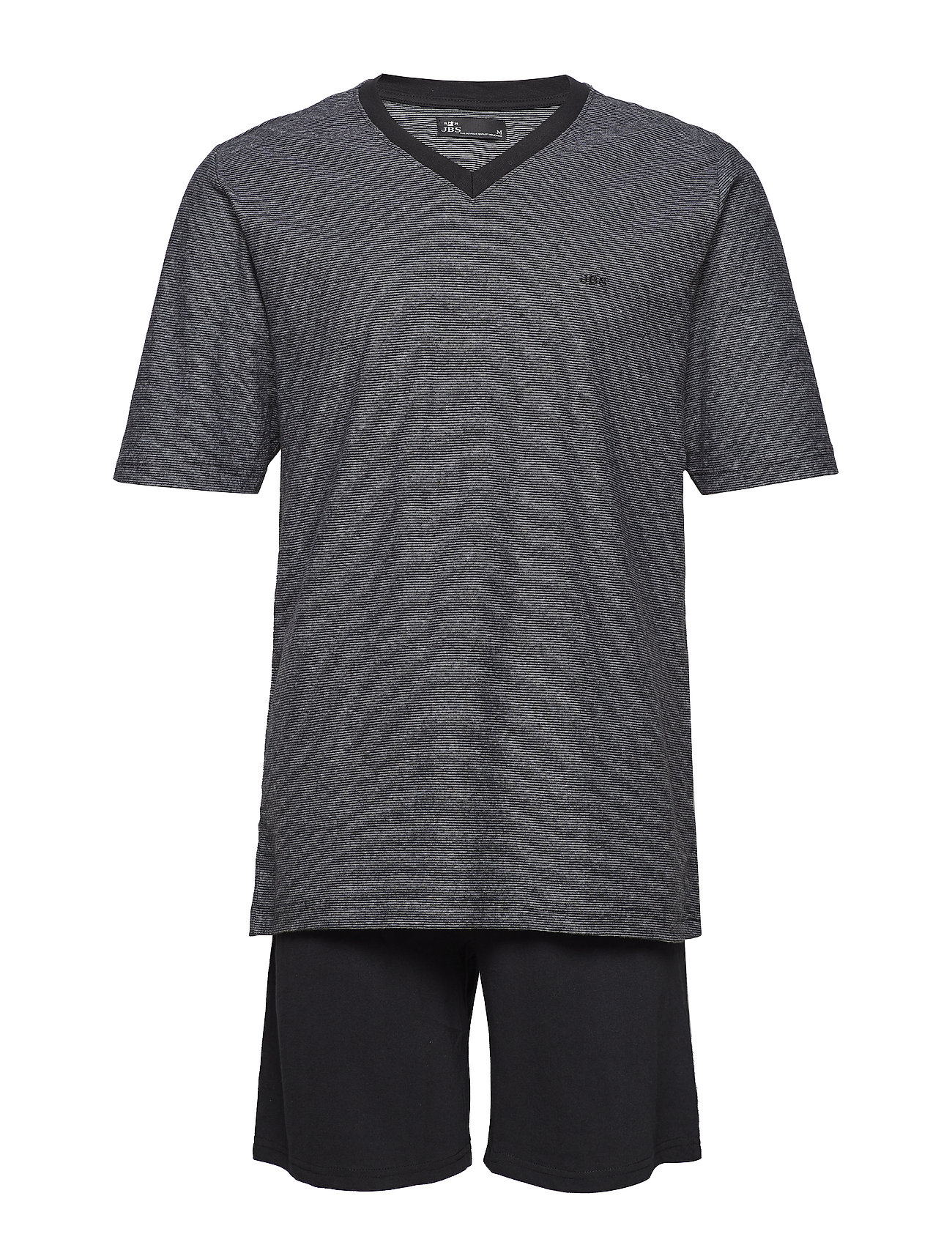 JBS JBS pyjamas t-shirt and shorts - BLACK
