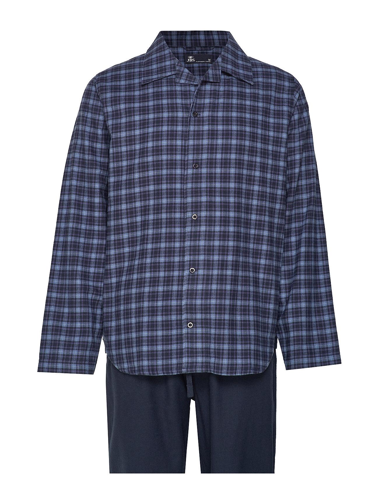 JBS JBS pyjamas flannel - BLUE CHECK