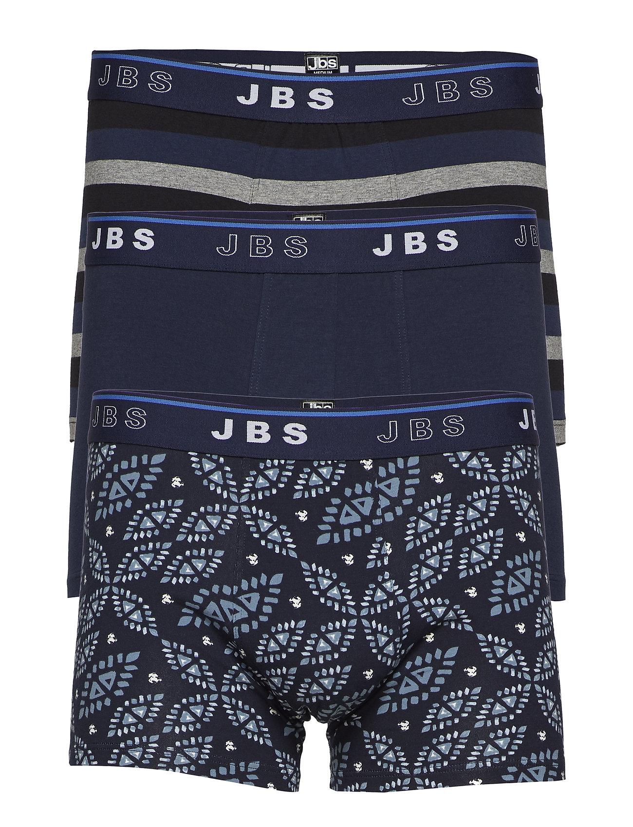 JBS JBS 3-pack tights - NAVY/BLUE