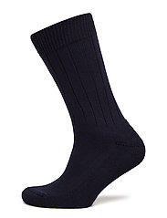 LBS SOCKLET-FROTTE RIB COTTON - NAVY