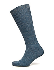 LBS 3/4SOCK PLAIN 1x1TOP WOOL - MULTI
