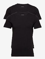 JBS - JBS 2-pack O-neck bamboo - t-shirts basiques - black - 0