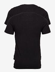 JBS - JBS 2-pack O-neck bamboo - t-shirts basiques - black - 2