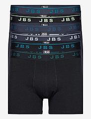JBS 6-pack tights, GOTS - FLERFäRGAD