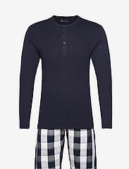 JBS - Pyjamas lang buks - pyjamas - stribet - 0