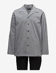 JBS - JBS, pajama button down - pyjamas - black - 0