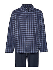 JBS pyjamas flannel - BLUE CHECK