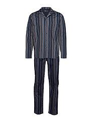 JBS pyjamas woven - NAVY STRIP