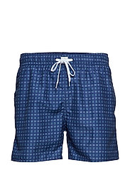 JBS swim shorts - NAVY AOP