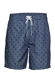JBS swim shorts - ANCHOR