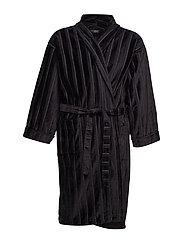 JBS bathrobe - BLACK