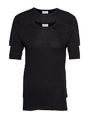 JBS t-shirt 2-pack organic - BLACK