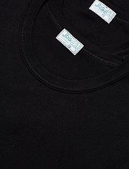 JBS - JBS t-shirt 2-pack organic - t-shirts basiques - black - 2